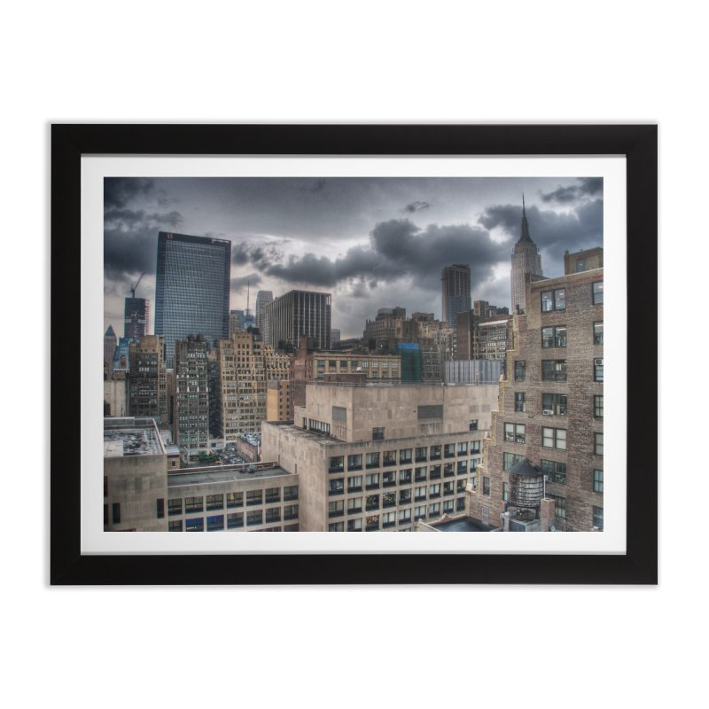 Penn to Empire Home Framed Fine Art Print by Pixel and Poly's Artist Shop