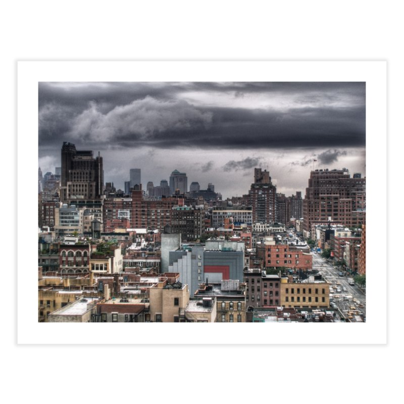 Missing our towers Home Fine Art Print by Pixel and Poly's Artist Shop