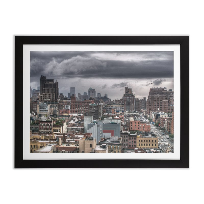 Missing our towers Home Framed Fine Art Print by Pixel and Poly's Artist Shop