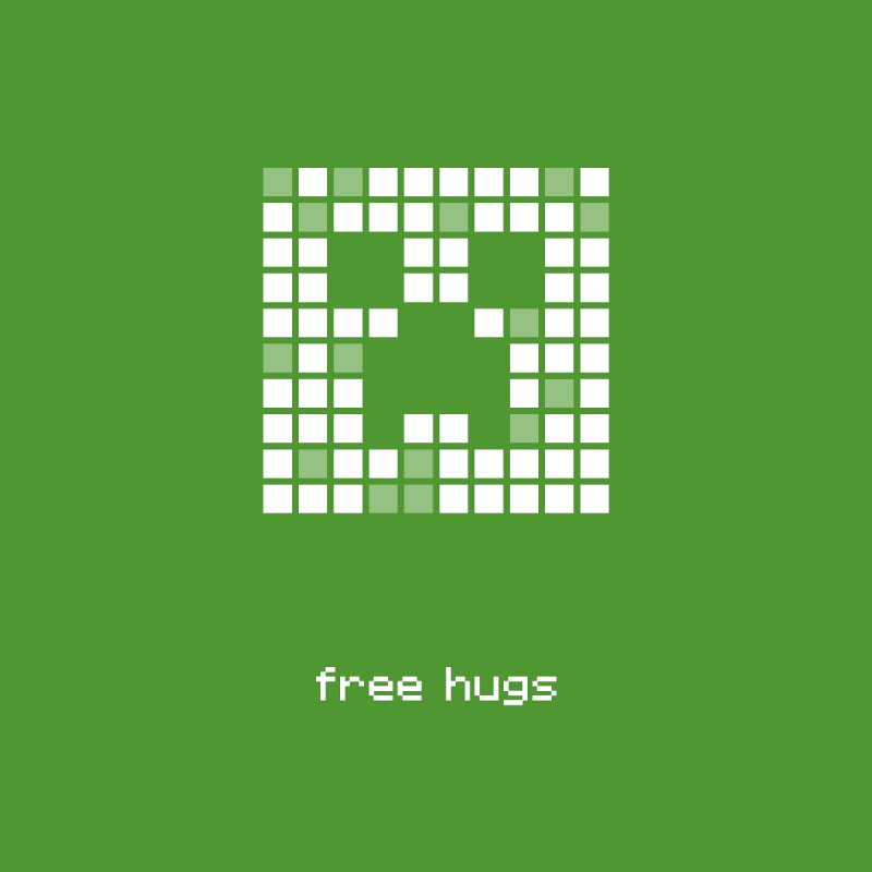 free hugs - Creeper Men's T-Shirt by Pixel and Poly's Artist Shop