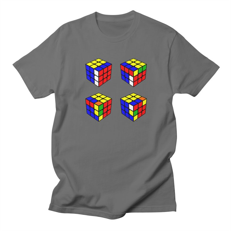 Speed Cubing sexy move in Men's Regular T-Shirt Asphalt by Pixel and Poly's Artist Shop