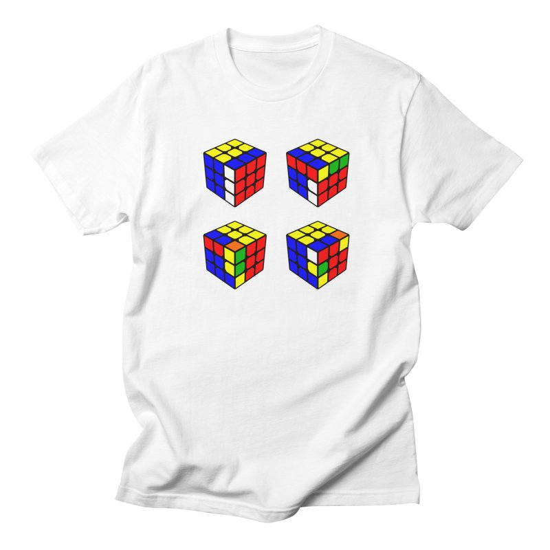 Speed Cubing sexy move Men's Regular T-Shirt by Pixel and Poly's Artist Shop
