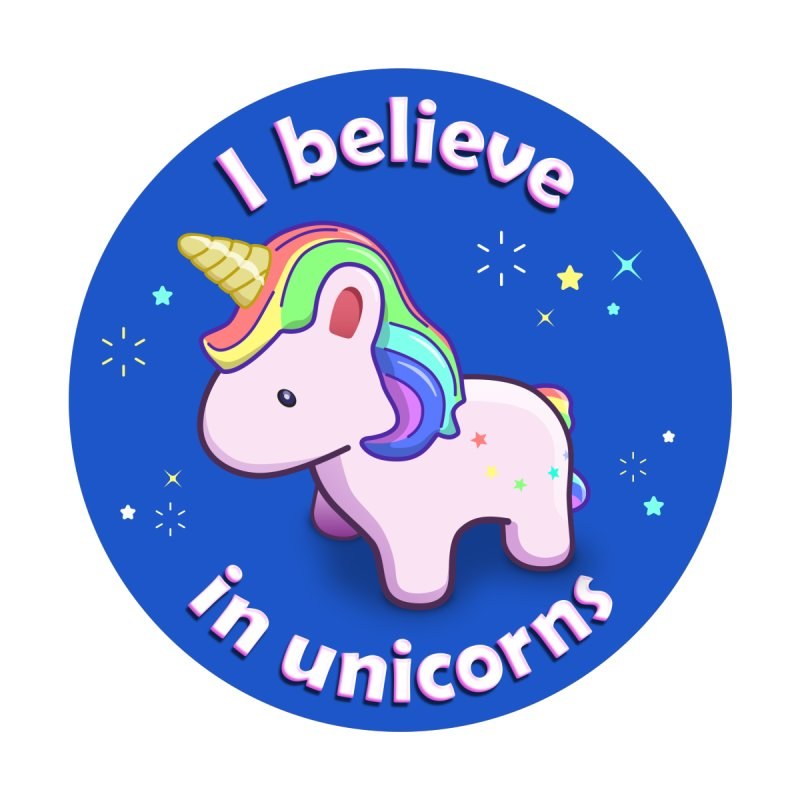 I believe in unicorns - products Accessories Bag by Pixel and Poly's Artist Shop