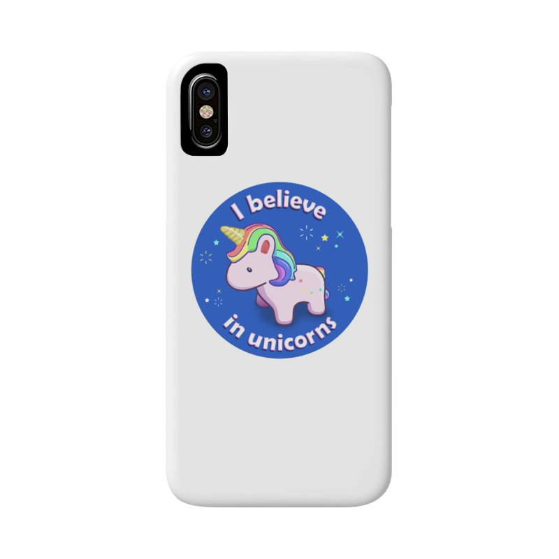 I believe in unicorns - products Accessories Phone Case by Pixel and Poly's Artist Shop