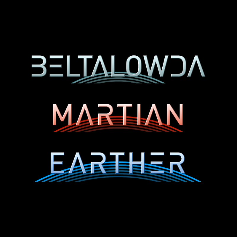 Beltalowda, Martian, Earther - Inspired by The Expanse Men's T-Shirt by Pixel and Poly's Artist Shop