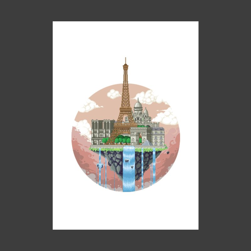 PARIS Floating City by pixelartmafia's Artist Shop