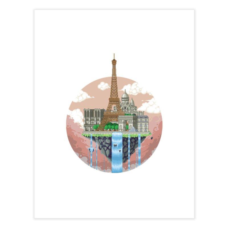 PARIS Floating City Home Fine Art Print by pixelartmafia's Artist Shop