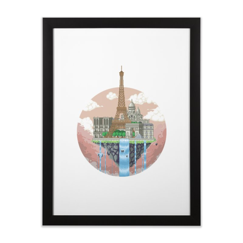 PARIS Floating City Home Framed Fine Art Print by pixelartmafia's Artist Shop