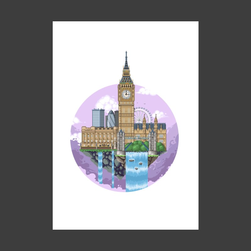LONDON Floating City by pixelartmafia's Artist Shop
