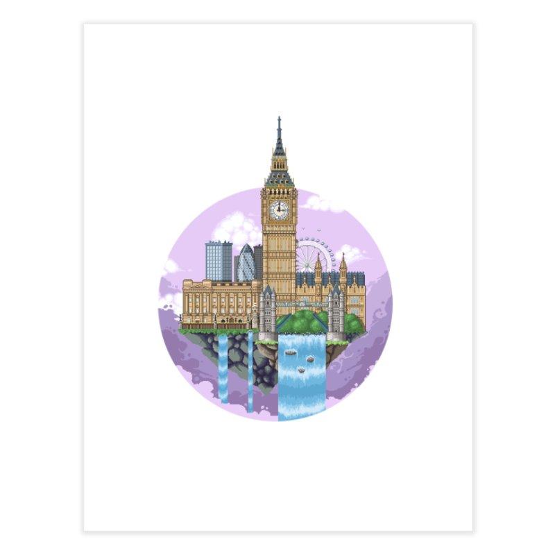 LONDON Floating City Home Fine Art Print by pixelartmafia's Artist Shop