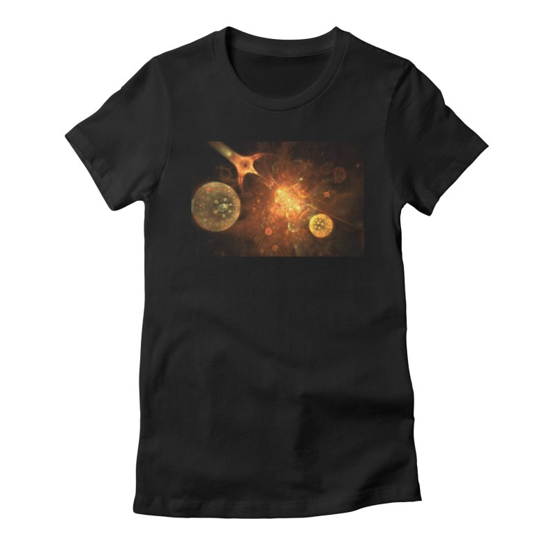 Ares Women's Fitted T-Shirt by pixeldelta's Artist Shop