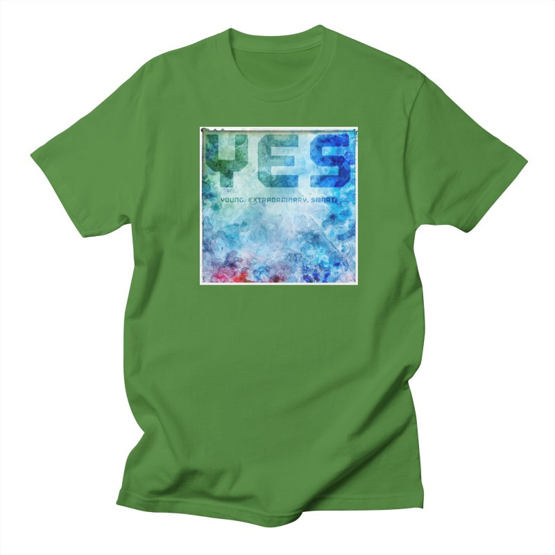 YES! Men's T-shirt by pixeldelta's Artist Shop