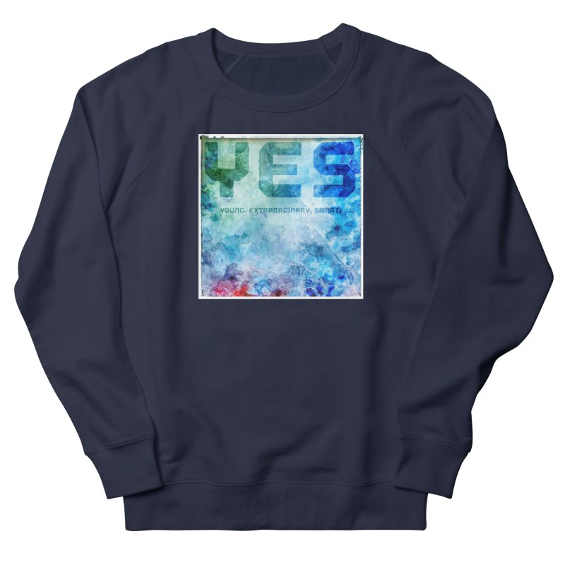 YES! Men's Sweatshirt by pixeldelta's Artist Shop