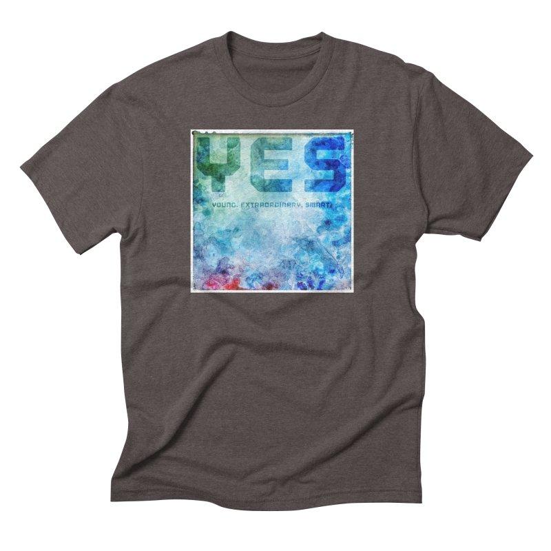 YES! Men's Triblend T-shirt by pixeldelta's Artist Shop