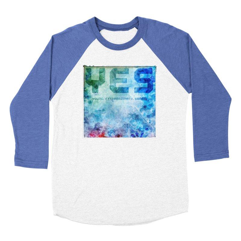 YES! Women's Baseball Triblend T-Shirt by pixeldelta's Artist Shop
