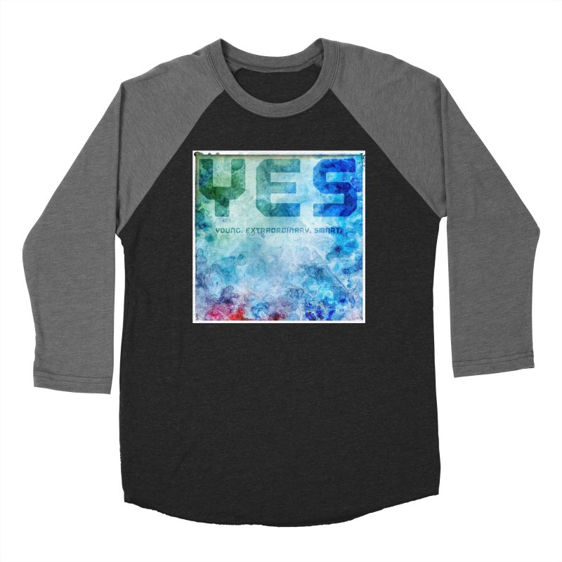 YES! Women's Baseball Triblend T-Shirt by pixeldelta's Artist Shop