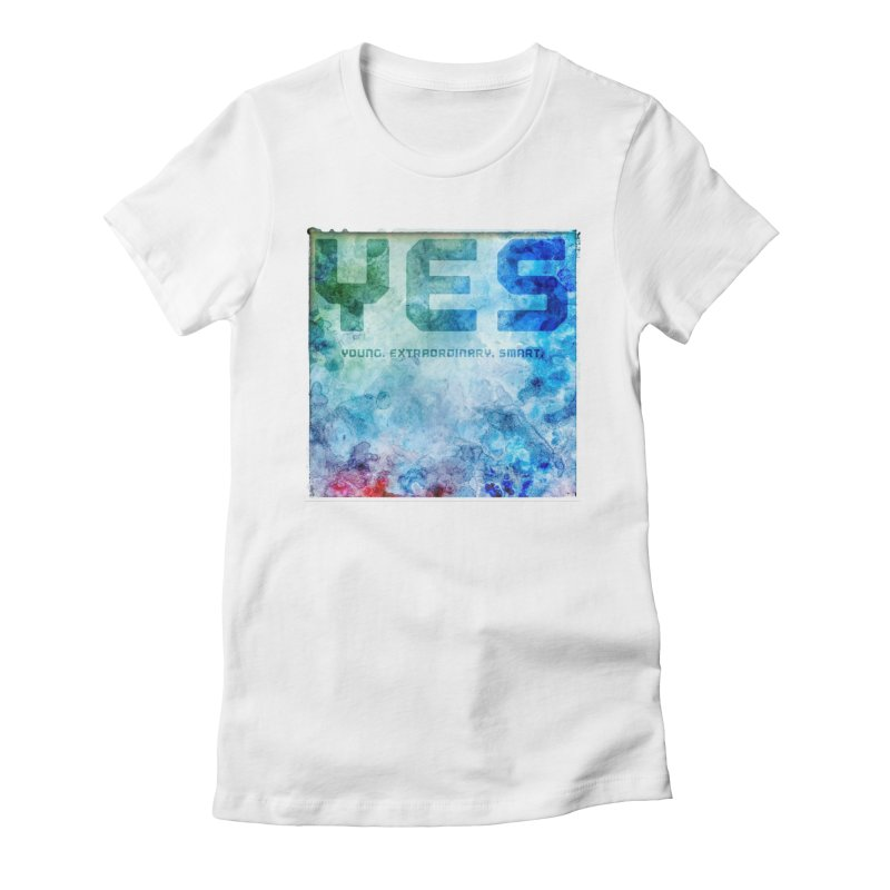 YES! Women's Fitted T-Shirt by pixeldelta's Artist Shop