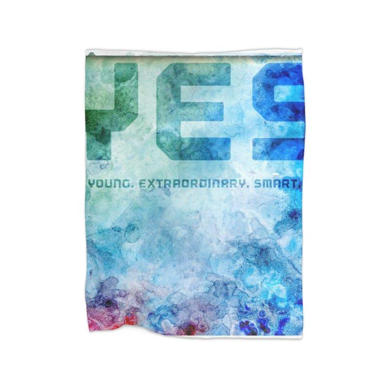 YES! Home Blanket by pixeldelta's Artist Shop