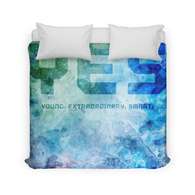 YES! Home Duvet by pixeldelta's Artist Shop