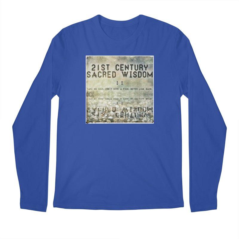 Wisdom Men's Longsleeve T-Shirt by pixeldelta's Artist Shop