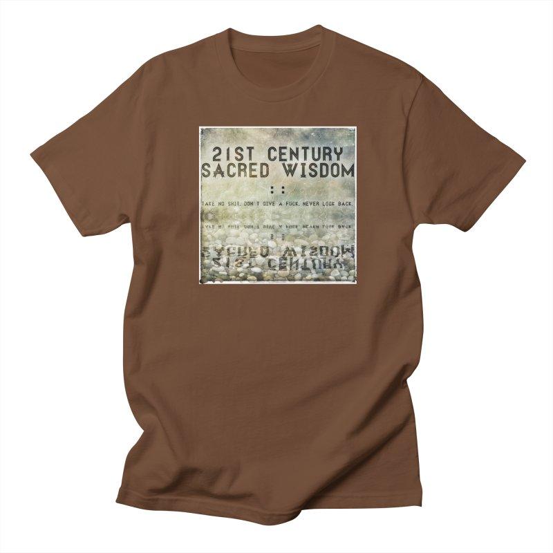 Wisdom Women's Unisex T-Shirt by pixeldelta's Artist Shop