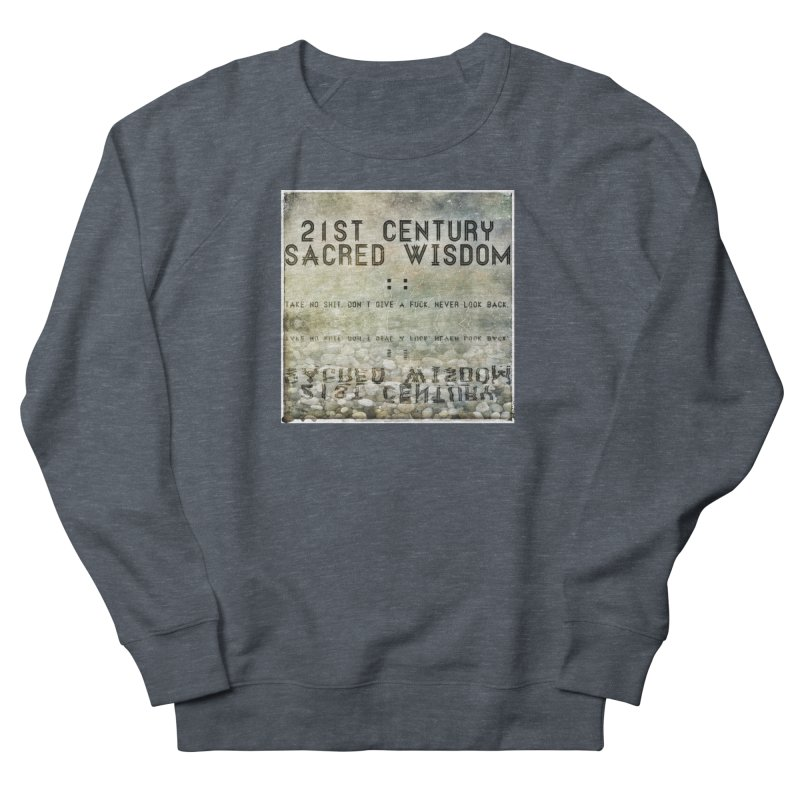 Wisdom Women's Sweatshirt by pixeldelta's Artist Shop