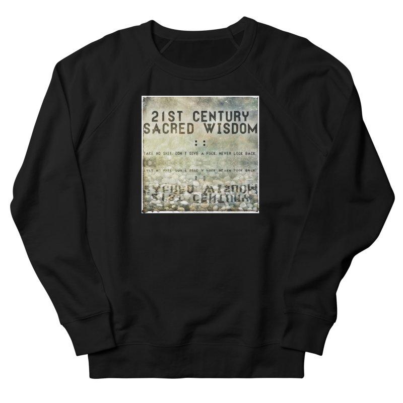 Wisdom Men's Sweatshirt by pixeldelta's Artist Shop