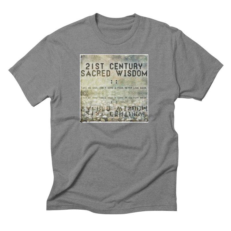 Wisdom Men's Triblend T-Shirt by pixeldelta's Artist Shop