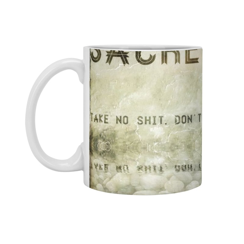 Wisdom Accessories Mug by pixeldelta's Artist Shop