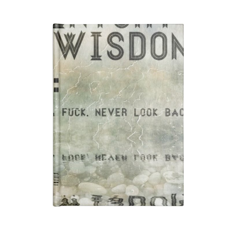 Wisdom Accessories Notebook by pixeldelta's Artist Shop