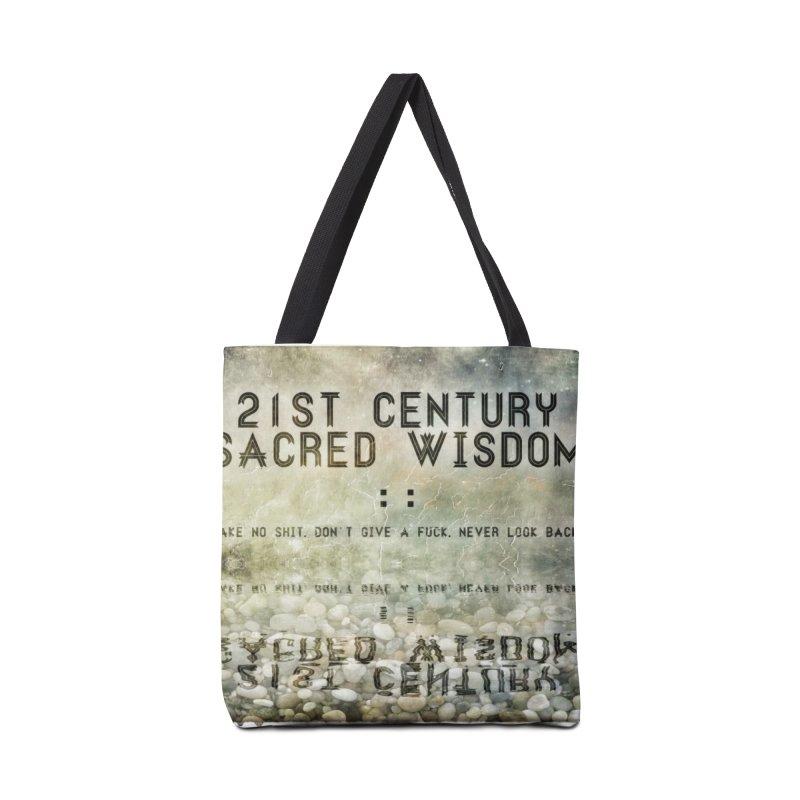 Wisdom Accessories Bag by pixeldelta's Artist Shop