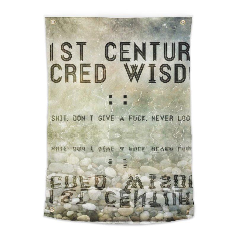 Wisdom Home Tapestry by pixeldelta's Artist Shop