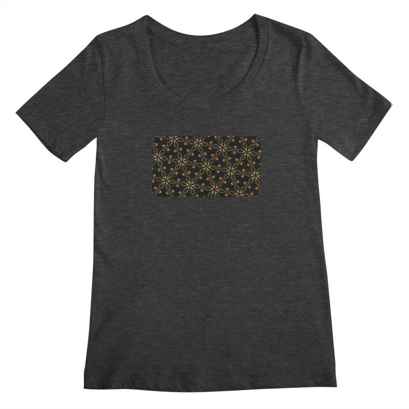Inspirit Code 1513696397 Women's Scoopneck by pixeldelta's Artist Shop