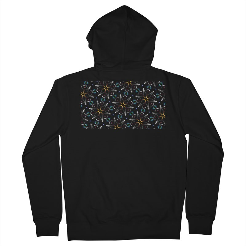 Inspirit Code 1513768292 Men's Zip-Up Hoody by pixeldelta's Artist Shop
