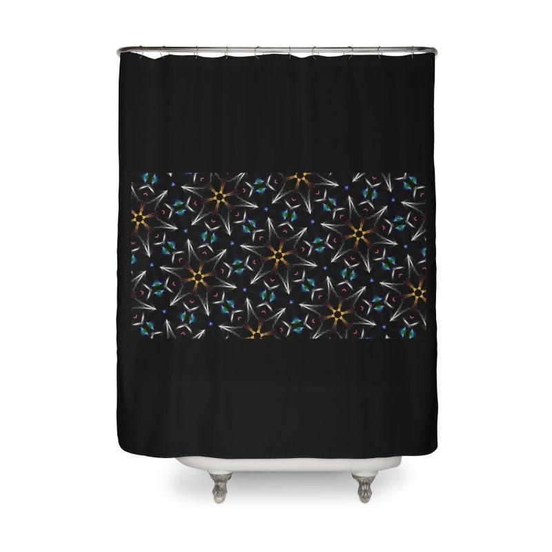 Inspirit Code 1513768292 Home Shower Curtain by pixeldelta's Artist Shop