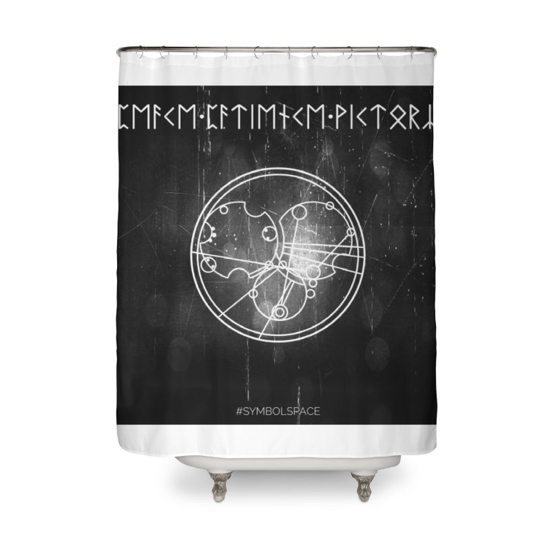 Peace Patience Victory Home Shower Curtain by pixeldelta's Artist Shop