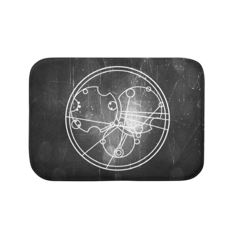 Peace Patience Victory Home Bath Mat by pixeldelta's Artist Shop