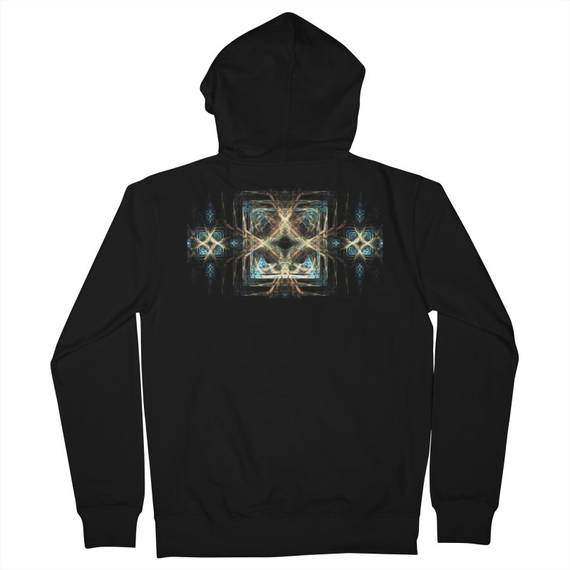 Resonance Men's Zip-Up Hoody by pixeldelta's Artist Shop