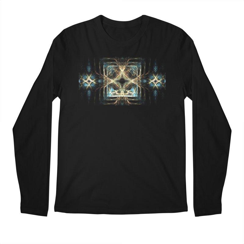 Resonance Men's Regular Longsleeve T-Shirt by pixeldelta's Artist Shop