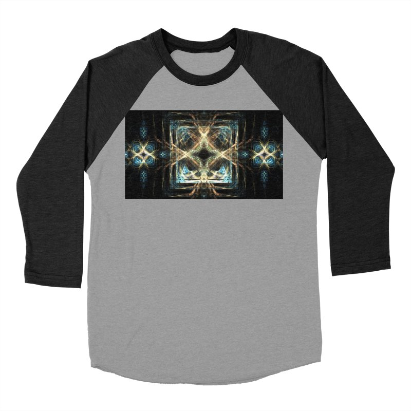 Resonance Men's Baseball Triblend T-Shirt by pixeldelta's Artist Shop