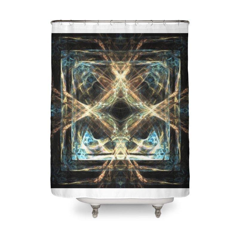 Resonance Home Shower Curtain by pixeldelta's Artist Shop