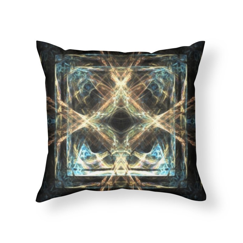 Resonance Home Throw Pillow by pixeldelta's Artist Shop