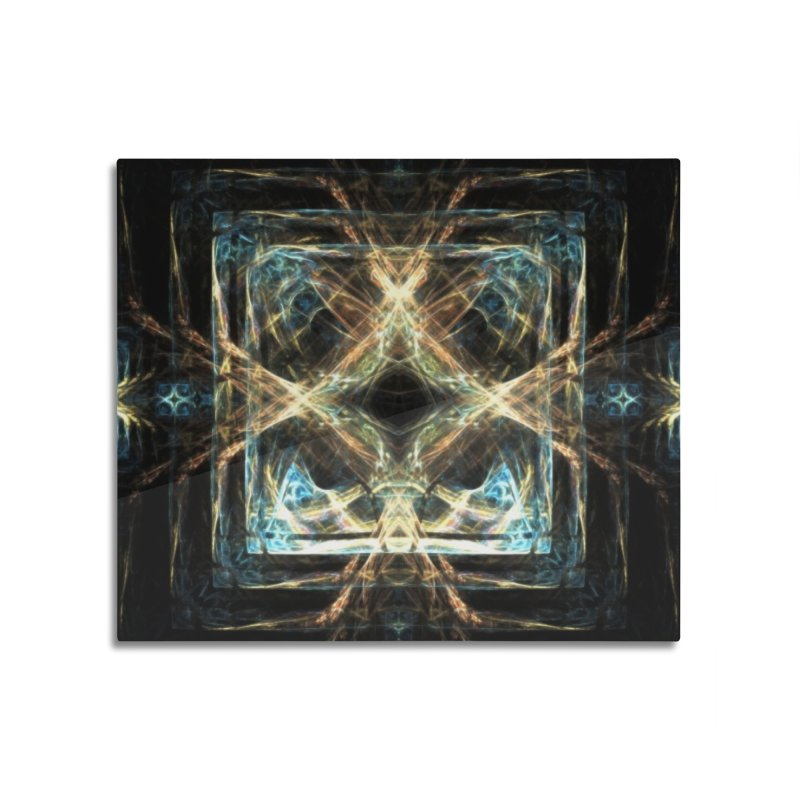 Resonance Home Mounted Aluminum Print by pixeldelta's Artist Shop