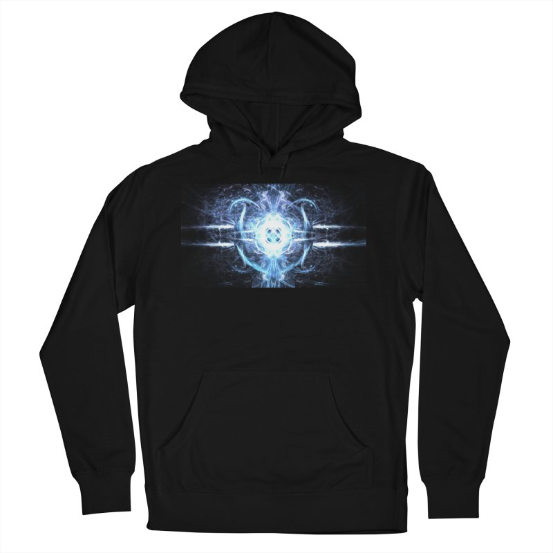Frostkeeper Men's French Terry Pullover Hoody by pixeldelta's Artist Shop
