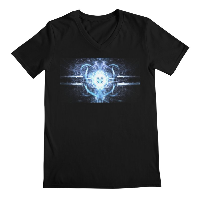 Frostkeeper Men's V-Neck by pixeldelta's Artist Shop