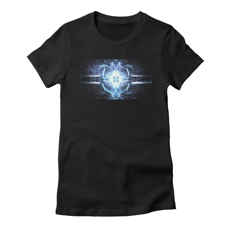 Frostkeeper Women's Fitted T-Shirt by pixeldelta's Artist Shop