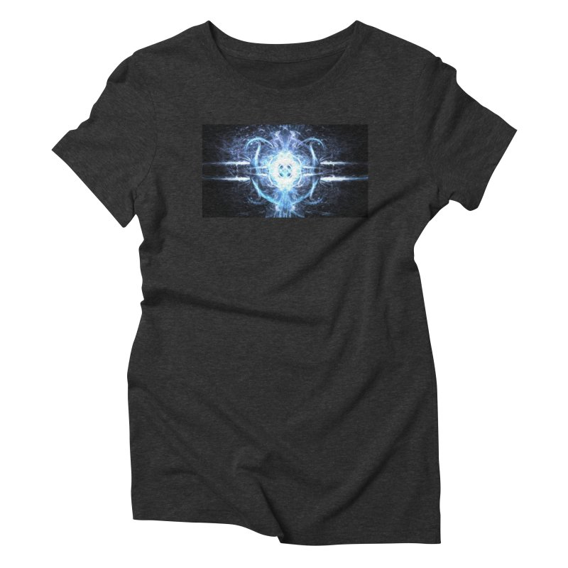 Frostkeeper Women's Triblend T-Shirt by pixeldelta's Artist Shop