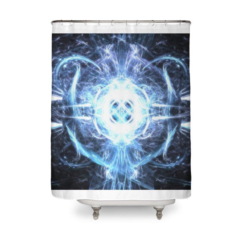 Frostkeeper Home Shower Curtain by pixeldelta's Artist Shop