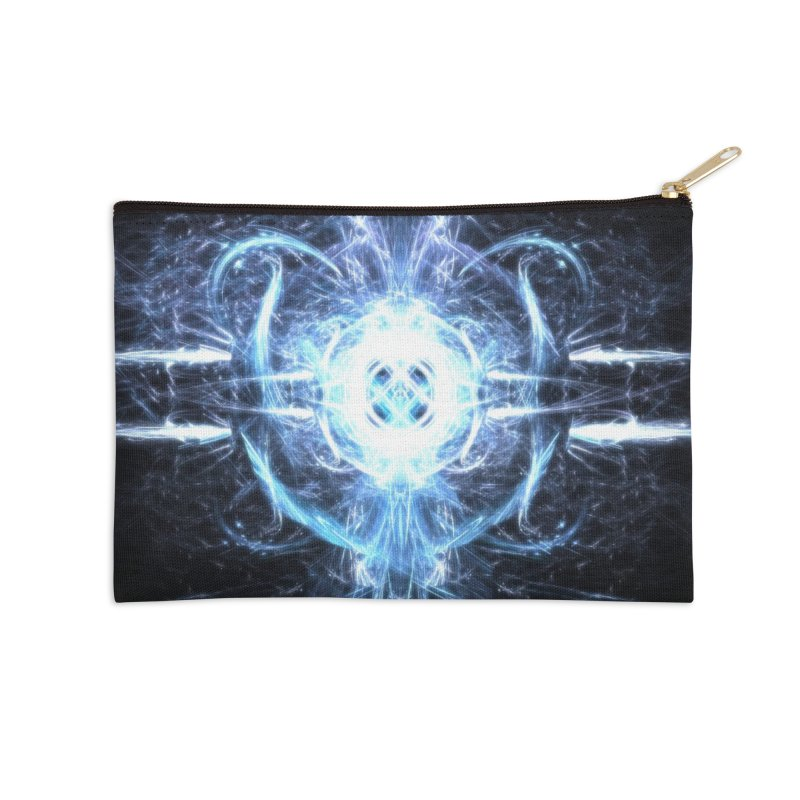Frostkeeper Accessories Zip Pouch by pixeldelta's Artist Shop
