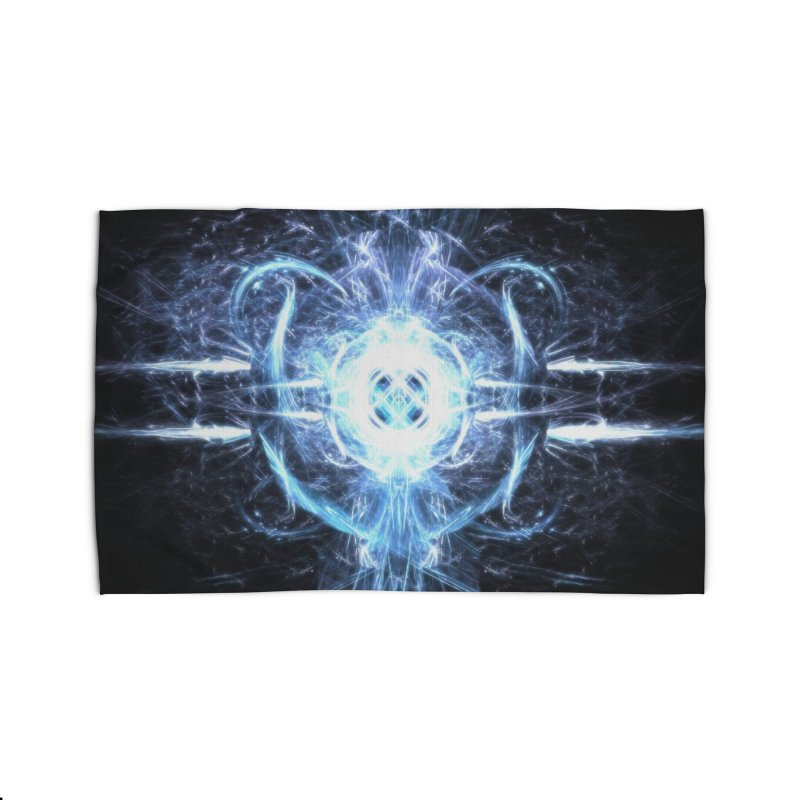 Frostkeeper Home Rug by pixeldelta's Artist Shop